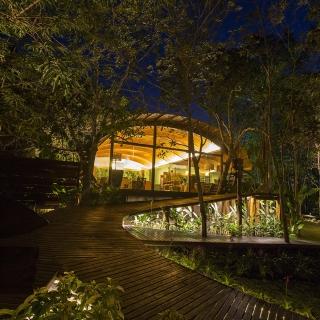 毗鄰亞馬遜大河的建築木香