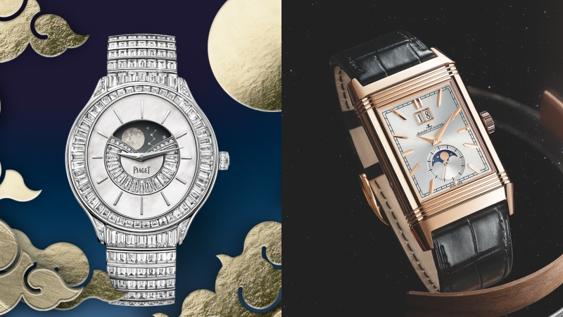 腕間的閃耀明月!華美月相錶一次看