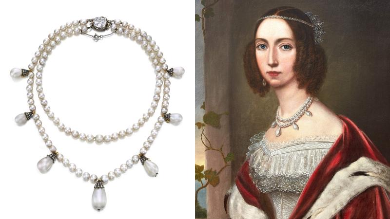 蘇富比「瑰麗珠寶」拍賣會登場!約瑟芬皇后項鏈、獅子山之星胸針等歐洲皇室珍藏精彩呈...