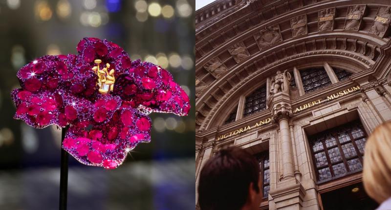 華人藝術珠寶之光!CINDY CHAO「紅寶石牡丹胸針」列V&A永久館藏