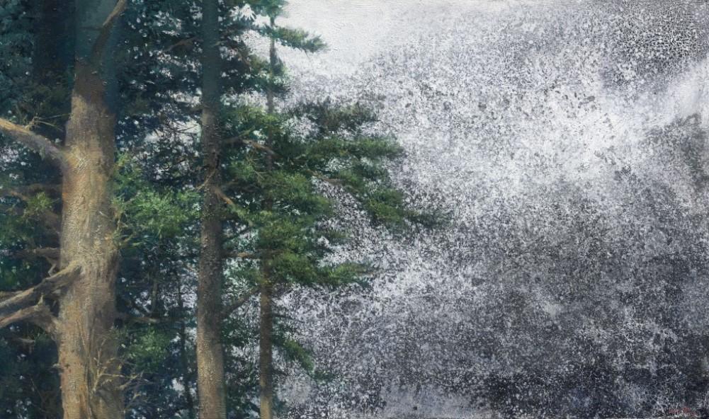 寄墨韻於油彩──沈東榮「天悠地久」油畫個展