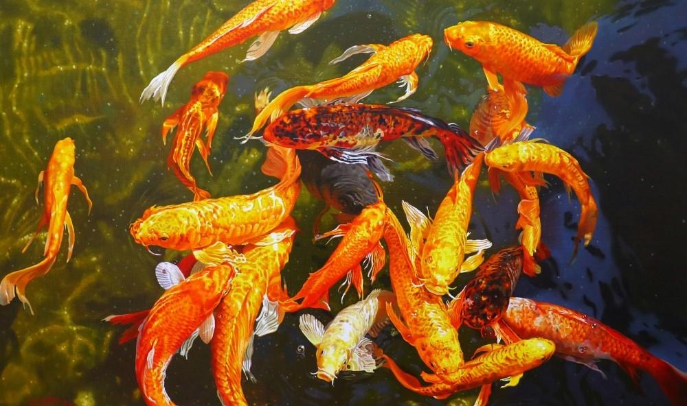 讓美好時光永遠凍結──林嶺森「花見‧櫻狩」油畫個展
