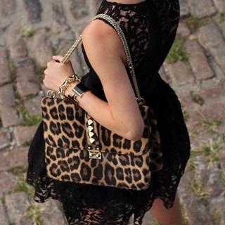 時尚部落客人手一件必備單品:個性豹紋!