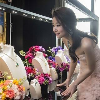 林心如戴古董項鍊 璀璨出席寶格麗頂級珠寶展