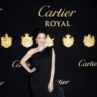 林青霞配戴1.6億珠寶 攜女出席頂級珠寶晚宴