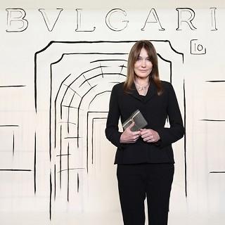法國前第一夫人 出席BVLGARI珍藏珠寶藝術展閃耀...
