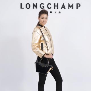林又立帥氣演繹Longchamp新品 最愛金色系