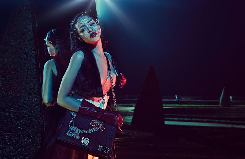 歌而優則演 蕾哈娜化身Dior 謬思女神