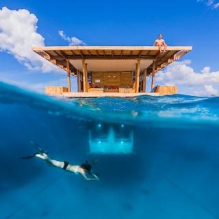 我也要住在海裡當美人魚!8間超美海底飯店