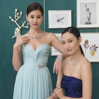 Tiffany頂級珠寶展開跑 盡情徜徉在大自然的懷抱...