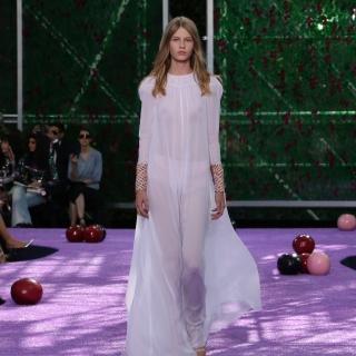 Dior嘗禁果 2015高級訂製服走入伊甸園