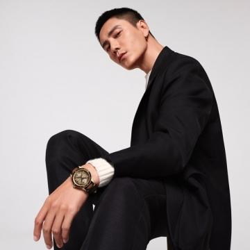 腕上錶藝!一秀夏的東亞紳仕風範